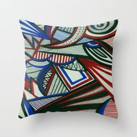 3d Throw Pillows featuring 3D by Jess D'Angelo