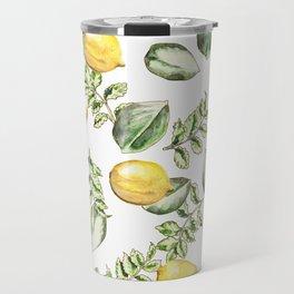 Summer Lemons Travel Mug