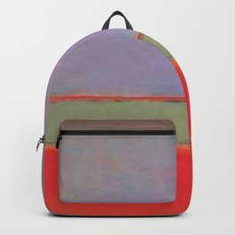1951 No 6 Violet Green and Red by Mark Rothko HD Backpack