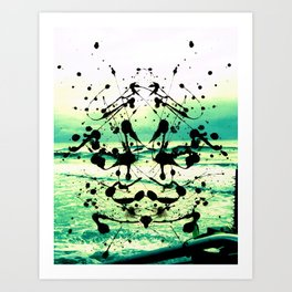 I want a Vacation Art Print
