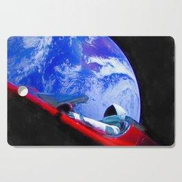 Tesla's Starman Cutting Board