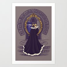 Mirror Mirror on the Wall...Who's the Doctor Come to Call? Art Print