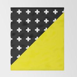 Memphis pattern 80 Throw Blanket