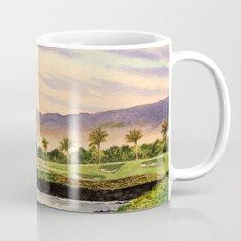 Mauna Kea Golf Course Hawaii Hole 3 Coffee Mug