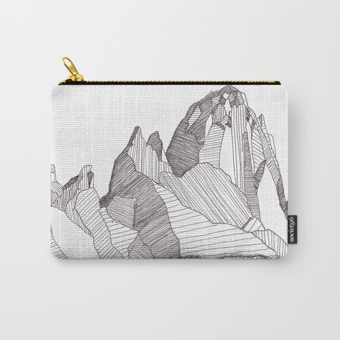 Patterns on Patagonia Carry-All Pouch