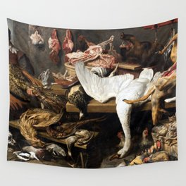 Franz Snyder A Game Stall Wall Tapestry