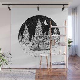 Winter Night Wall Mural