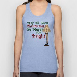 May All Your Christmases Be Merry and Bright Unisex Tank Top