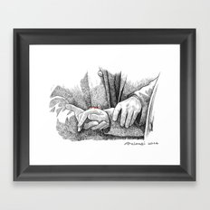 You should be quite pleased Framed Art Print
