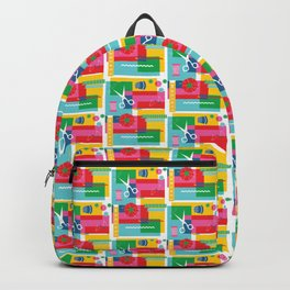 Craft Collage Backpack