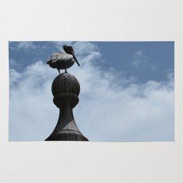 Pelican Posing in San Juan Rug