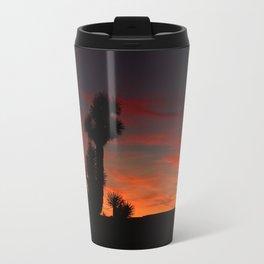 Desert Sunset Silhouettes - II Travel Mug