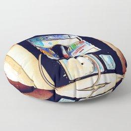 Payphone Floor Pillow