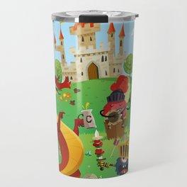 the medieval adventure Travel Mug