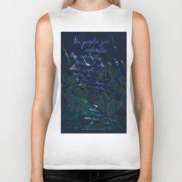 """""""Conquest of the Useless"""" by Werner Herzog Print (v. 11) Biker Tank"""