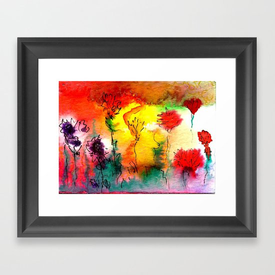 Amaranth Framed Art Print