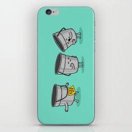 Kick the Bucket iPhone Skin