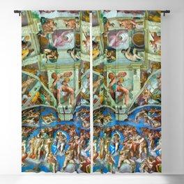 Spectacular Sistine Chapel Frescoes, Rome, Italy color photograph / photography / photographs Blackout Curtain