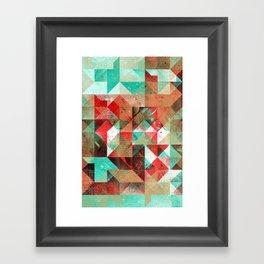 ryht lyht ryso rymyx Framed Art Print