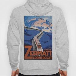 Vintage poster - Zermatt Hoody
