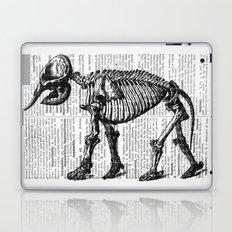 Elephant Skeleton Laptop & iPad Skin