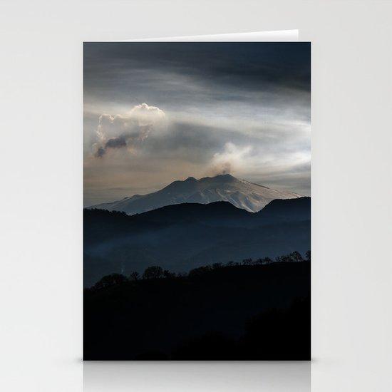 Vulcan Etna Stationery Cards