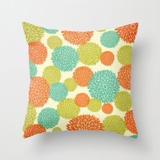 Flowers In May Throw Pillow