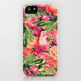 Pretty Peonies iPhone Case