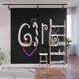 Girl & Coeur 10 Wall Mural