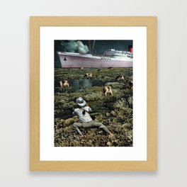 Snappie | Collage Framed Art Print