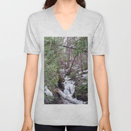 High Mountain Creek Unisex V-Neck