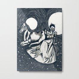 Princesses, monsters, ponies, oh my! Metal Print