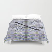 planet Duvet Covers featuring Planet by TAG Théo Audoire Galerie
