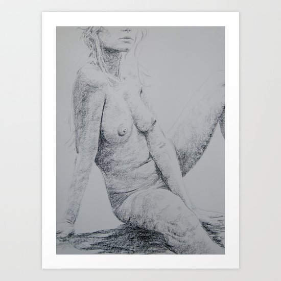 Naturally Reclined Art Print