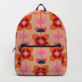 Retro floral pattern no4 Backpack