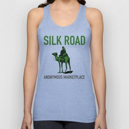 The Silk Road Marketplace  Unisex Tank Top
