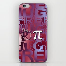 Apple Pie - Free Hugs and Kisses iPhone Skin