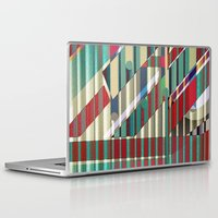 industrial Laptop & iPad Skins featuring Industrial Delusions by Fernando Vieira