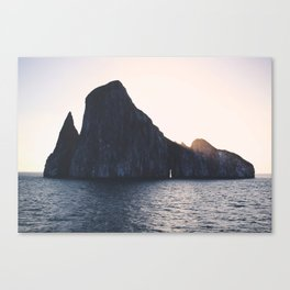 Kicker Rock, Galapagos Canvas Print