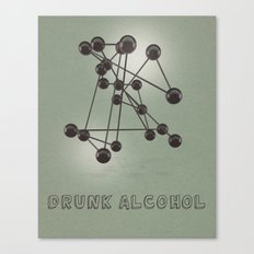 Drunk Alcohol Canvas Print