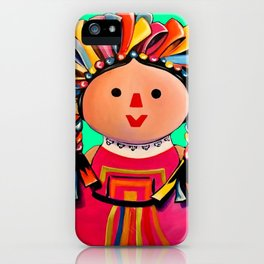 Mexican Maria Doll 3 iPhone Case