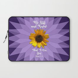 Be Still and Know... Laptop Sleeve