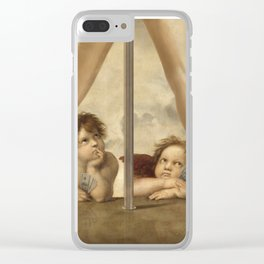 Not so Little Angels Clear iPhone Case