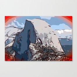 Half Dome Morning Canvas Print