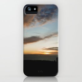 Wheal Cotes Sunset iPhone Case
