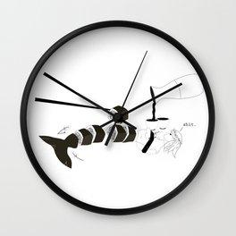 mermaid sushi Wall Clock