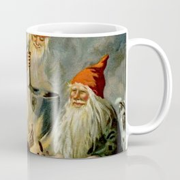 """Campfire Cooking"" Tomten by Jenny Nystrom Coffee Mug"