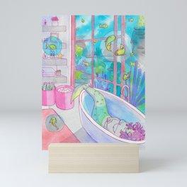 Bath (Mermay 2019) Mini Art Print