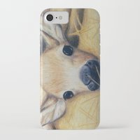 bambi iPhone & iPod Cases featuring Bambi by Erin Schamberger