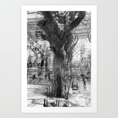 lay the ground for harmonious constructions? Art Print